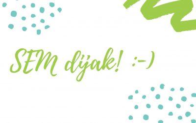 SEM dijak! :-)